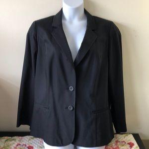 Lane Bryant Black classic blazer 22